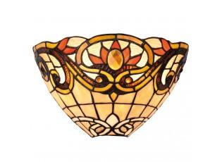 Nástěnná lampa Tiffany Fleur - 30*15*20 cm 1x E14 / Max 40W