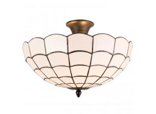 Stropní svítidlo Tiffany Nandini - Ø 40*30 cm / E14/max 2*40W