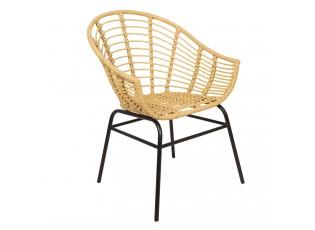 Ratanové křesílko / židle - 61*58*80 cm