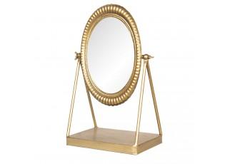 Stolní kosmetické zlaté zrcadlo - 23*13*35 cm