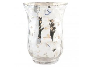 Skleněný svícen na čajovou svíčku - Ø 11*15 cm