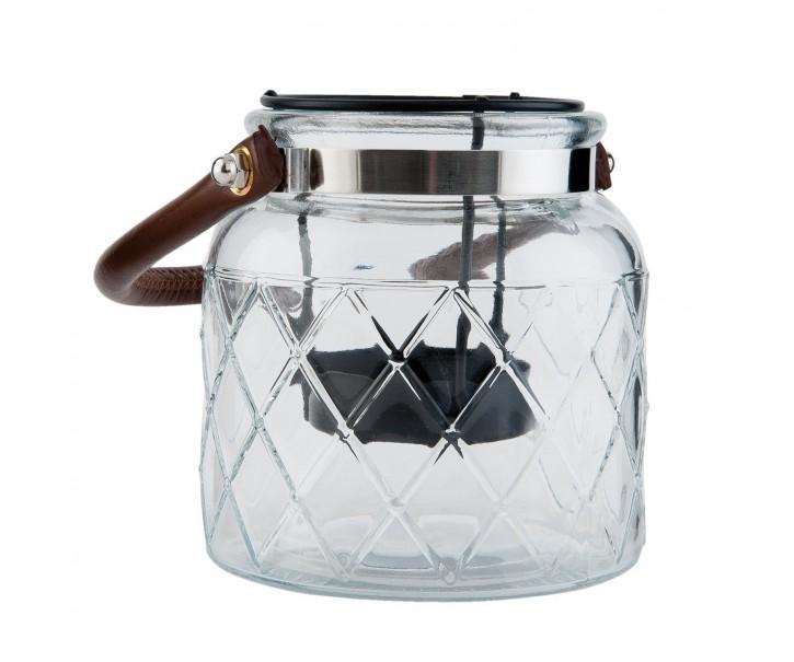 Skleněný svícen na čajovou svíčku - ∅ 10*11 cm