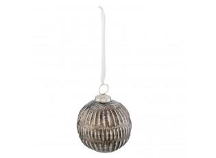 Vánoční koule s patinou - Ø 10*12 cm