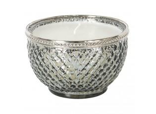 Skleněný svícen na čajovou svíčku Paul - ∅ 6*6 cm