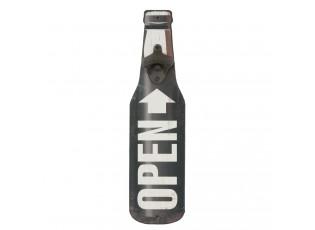 Nástěnný otvírák na láhve - 10*3*40 cm