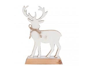 Dřevěná dekorace jelena - 19*7*27 cm