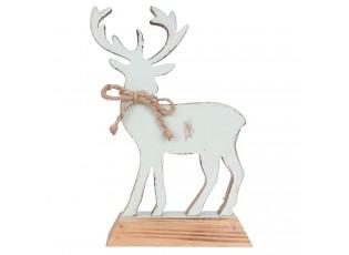 Dřevěná dekorace Jelen - 14*6*20 cm