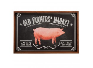 Obraz Old falmers market - 56*2*37 cm