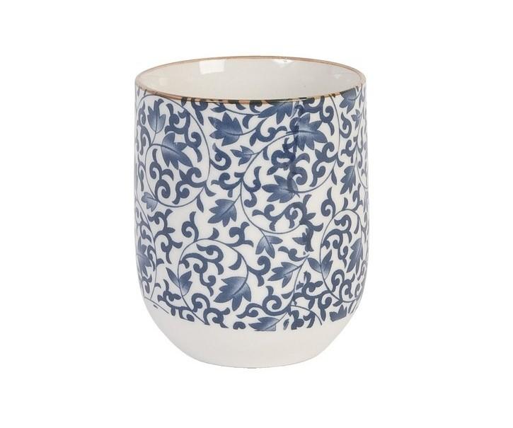 Kalíšek na čaj modrý -pr 6*8 cm