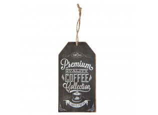 Nástěnná dřevěná cedulka Coffee- 8*15 cm