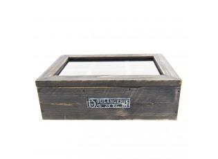 Čajový box (6 přihrádek) Boulangerie- 25*17*8 cm