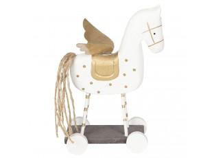 Dekorace dřevěný kůň - 19*7*12 cm