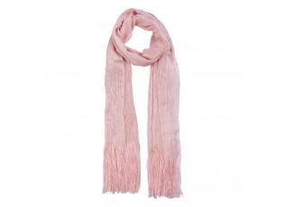 Růžový šátek - 50*170 cm