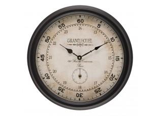 Vintage nástěnné hodiny Grand Hotel - Ø 42*8 cm / 2xAA