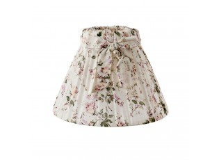 Květované stínidlo stolní lampy -  Ø 22*14 cm