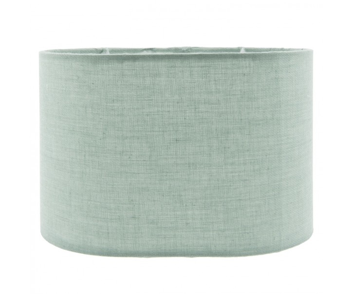 Textilní zelené stínidlo Vert - 20*13*13 cm