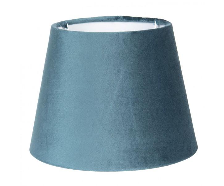 Zelené semišové stínidlo Chic - Ø 31*22 cm