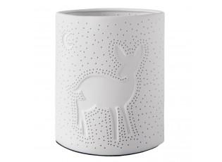 Porcelánová stolní lampa Srnka - 17*10*20 cm / E27/max 1*30W