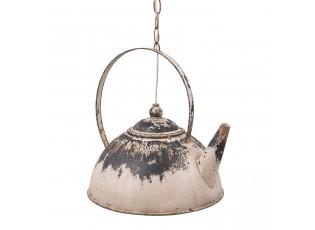 Vintage závěsné světlo v designu čajové konvice - 34*30*34 cm