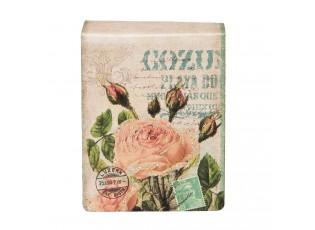 Malý trhací zápisník s růží - 6*8*2 cm (160 stran)