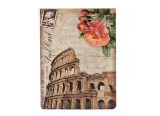 Retro zápisník Post card - 13*9 cm