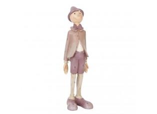 Dekorace stojící Pinocchio - 9*8*30 cm