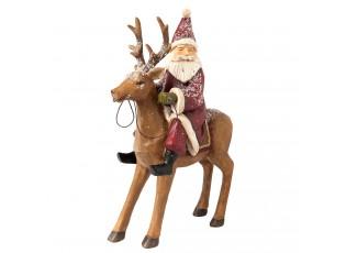 Santa na Jelenovi - 20*7*26 cm