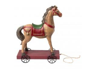 Kůň na kolečkách - 22*10*30 cm