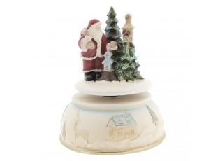 Hudební box Santa - Ø 11*15 cm