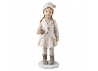 Dekorační figurka děvčete - 8*6*22 cm