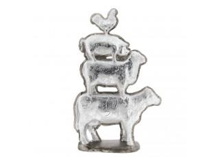 Dekorace zvířat kráva / ovce / prase / kohout - 30*8*47 cm