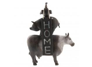 Home Dekorace zvířat kráva / prase / kohout - 26*8*32 cm