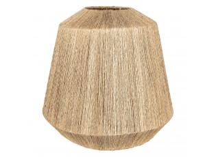 Jutové závěsné stínidlo lampy -  Ø 20/57*53 cm / E27