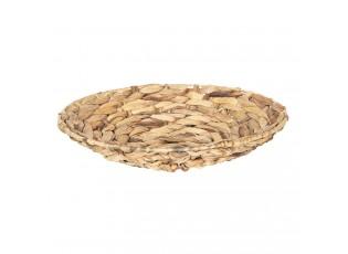 Miska pletená z listů - Ø 33*8 cm