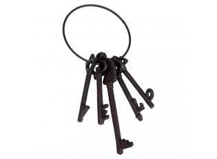 Dekorace Svazek klíčů LOVE - 11*5*25 cm