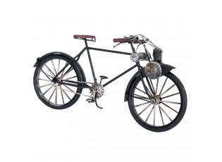 Kovový retro model černého jízdního kola - 31*9*15 cm