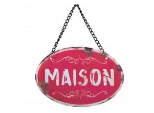 Závěsná cedulka Maison - 12*8 cm