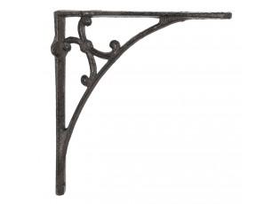 Kovová policová konzole Ancelina - 25*25*4 cm