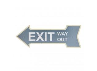Nástěnná cedule Exit - 46*15 cm