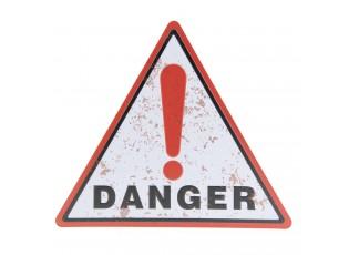 Nástěnná cedule Danger - 30*34 cm
