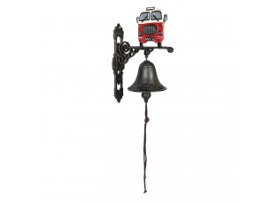 Kovový zvonek s autobusem - 18*11*25 cm