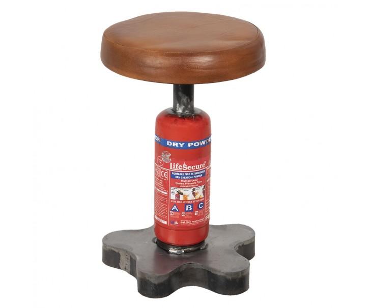 Kovová stolička Fire II - Ø 30*49 cm