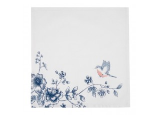 Textilní ubrousky Early Bird - 40*40 cm - sada 6ks