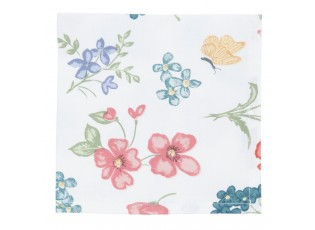 Textilní ubrousky Field Flowers - 40*40 cm - sada 6ks