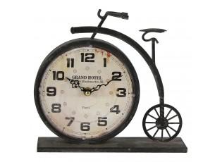 Stolní hodiny ve tvaru retro jízdního kola - 23*7*22 cm