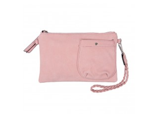Růžová kabelka do ruky i pčes rameno - 17*26 cm