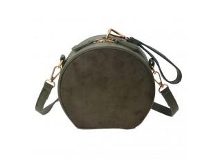 Zelená kabelka přes rameno - 17*16*18 cm