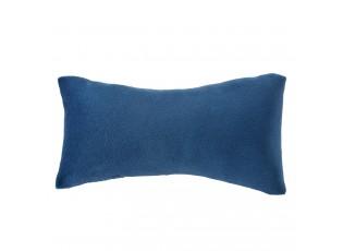 Modrý chlupatý polštář Velvet na náramky - 13*7 cm
