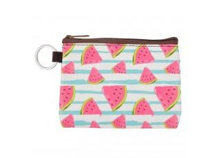 Malá peněženka / klíčenka s melouny  - 11*8 cm
