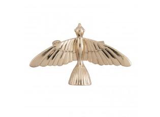 Zlatá brož ve tvaru ptáčka